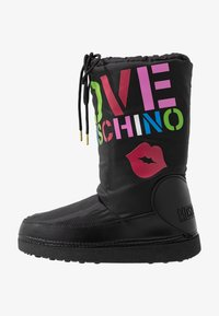 Love Moschino - KUSS - Zimní obuv - black - 1