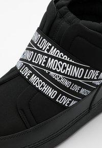 Love Moschino - WINTER LOVE - Winter boots - black - 4
