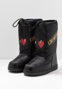 Love Moschino - Winter boots - black - 4