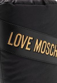 Love Moschino - Winter boots - black - 2