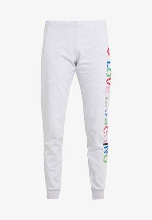 JOGGER LIP - Spodnie treningowe - light grey