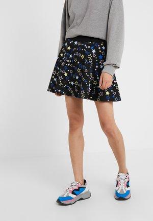A-line skirt - stars black