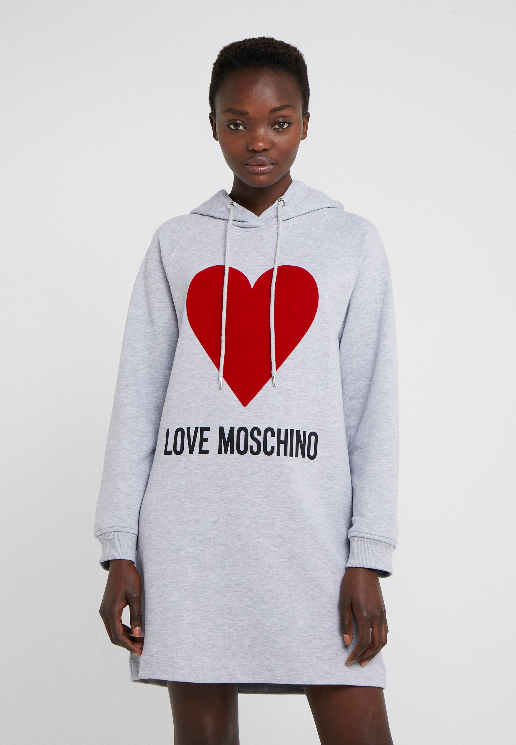 Light Love D'été Moschino DressRobe Grey 351TlJcKuF