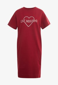 Love Moschino - DRESS - Korte jurk - red - 5