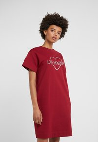 Love Moschino - DRESS - Korte jurk - red - 0