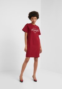 Love Moschino - DRESS - Korte jurk - red - 1