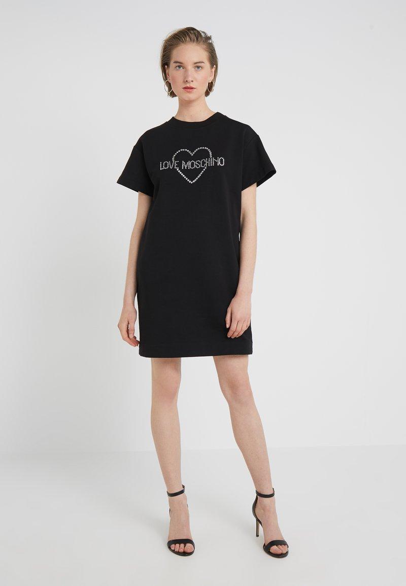 Love Moschino - DRESS - Day dress - black