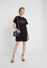 Love Moschino - DRESS - Korte jurk - black - 1