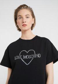 Love Moschino - DRESS - Korte jurk - black - 4