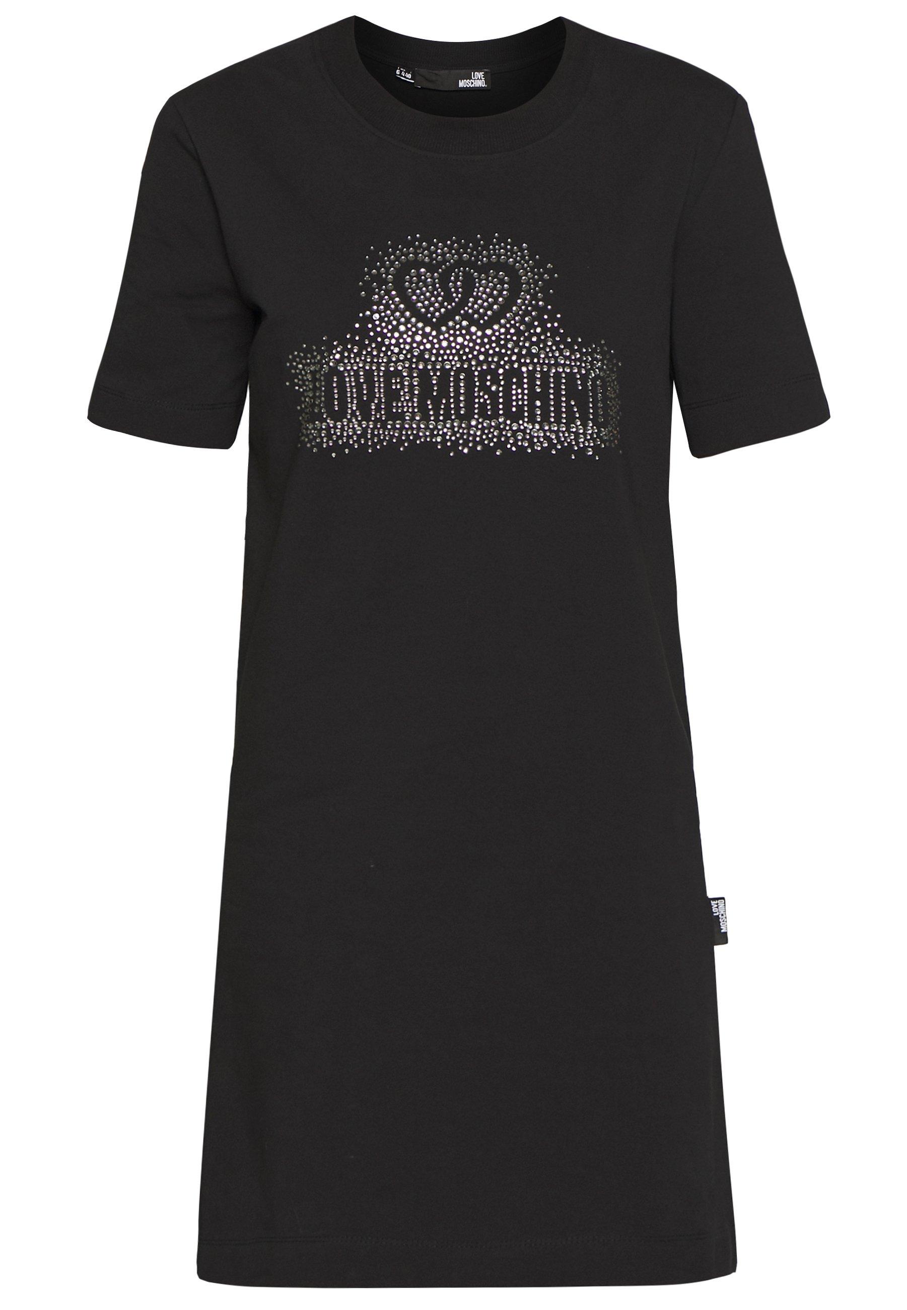Love Moschino Day Dress - Black UK