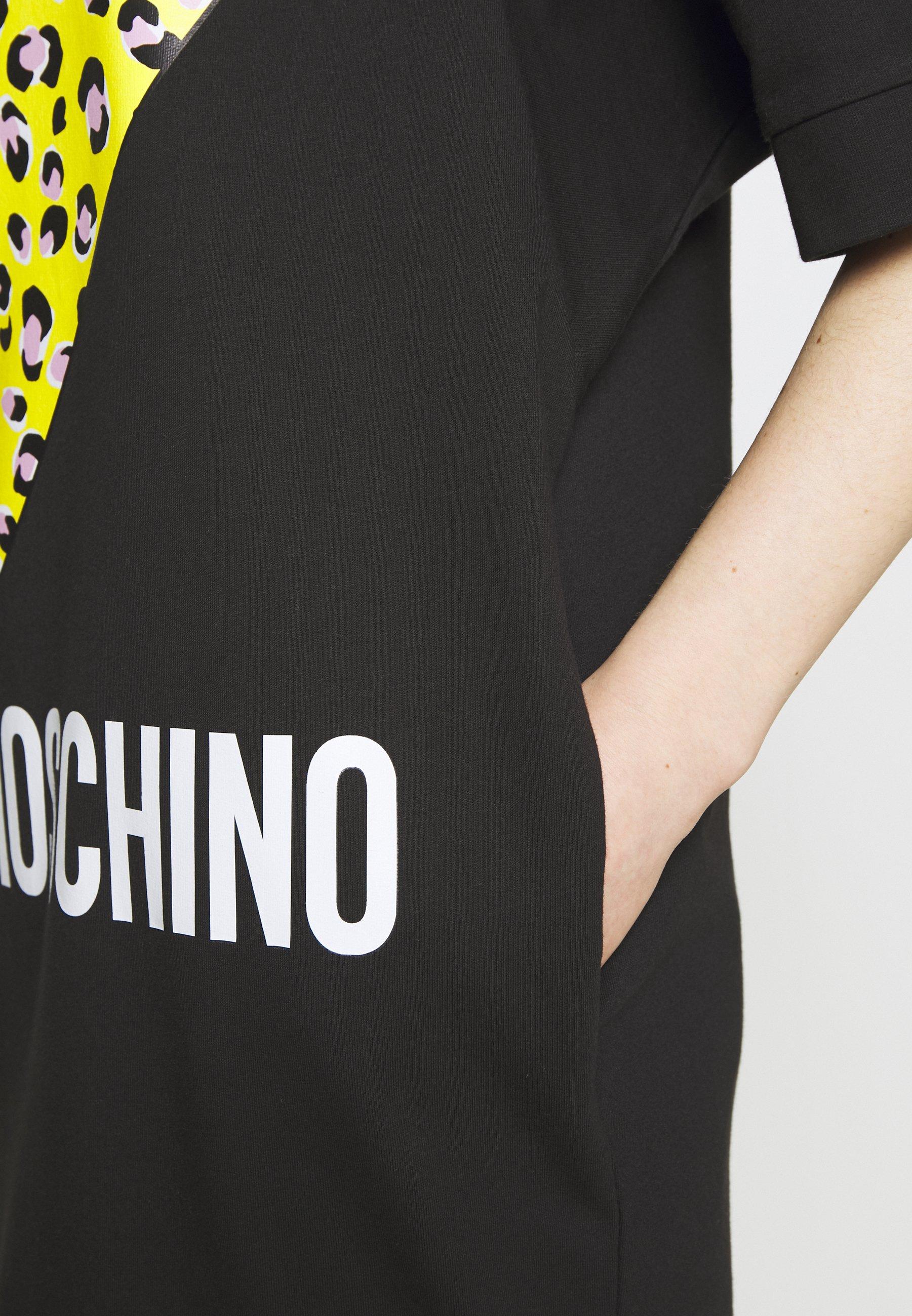 Love Moschino Jersey Dress - Black