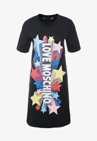 Love Moschino - Robe en jersey - black - 3