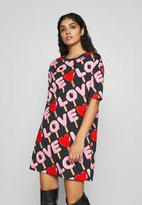 Love Moschino - Korte jurk - black - 0