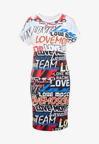 Love Moschino - Jerseykjole - white - 3