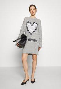 Love Moschino - Jumper dress - grey - 1