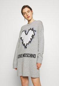 Love Moschino - Jumper dress - grey - 0