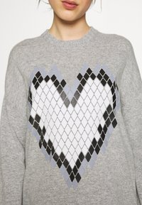 Love Moschino - Jumper dress - grey - 5