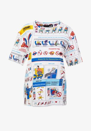 Print T-shirt - safety card