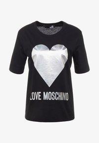 Love Moschino - Triko spotiskem - black - 4