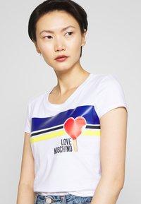 Love Moschino - T-shirt print - optical white - 3