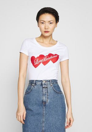 T-shirts print - optical white