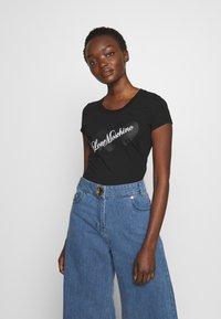 Love Moschino - T-shirt print - black - 0