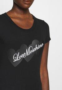 Love Moschino - T-shirt print - black - 5