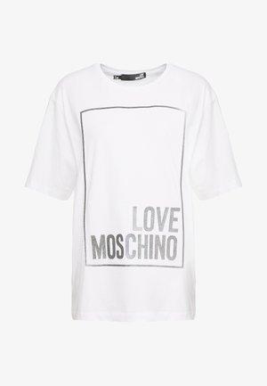 T-shirt print - optical white