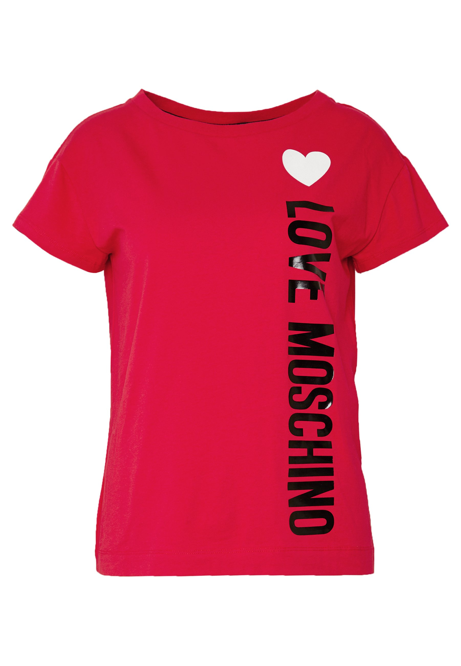 Love Moschino T-shirt Med Print - Red