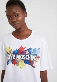 Love Moschino - T-shirt print - optical white - 4