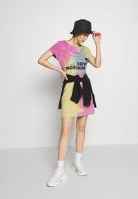 Love Moschino - TIE DYE DRESS - Jerseyjurk - multi-coloured - 1