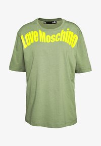 Love Moschino - Print T-shirt - green - 4