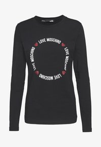 Love Moschino - Long sleeved top - black - 4
