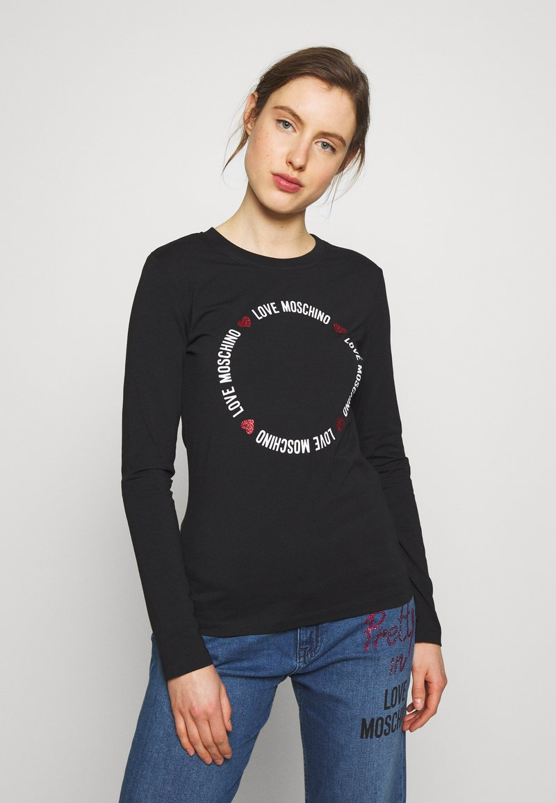 Love Moschino - Long sleeved top - black