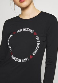 Love Moschino - Long sleeved top - black - 5