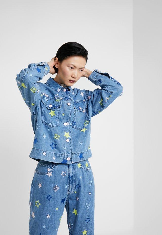 Giacca di jeans - light-blue denim