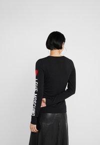 Love Moschino - Stickad tröja - black - 2