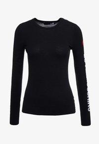 Love Moschino - Stickad tröja - black - 4