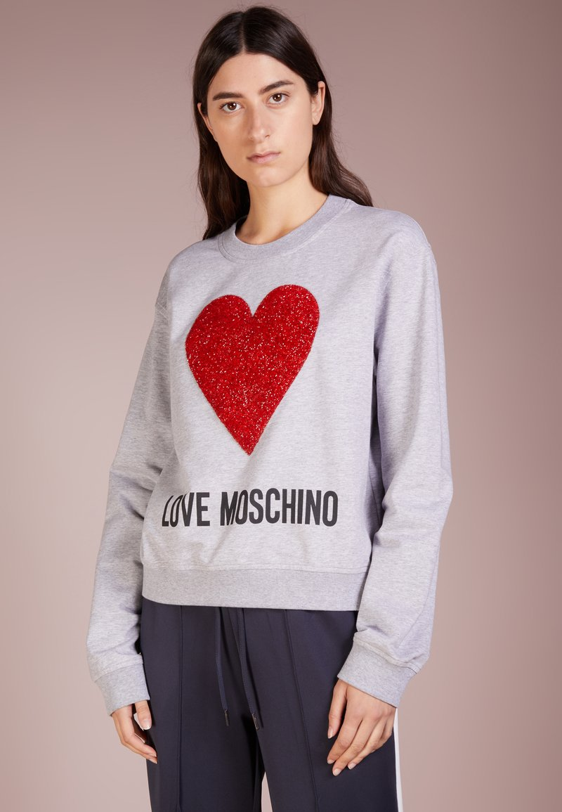 Love Moschino - Sweatshirt - light gray