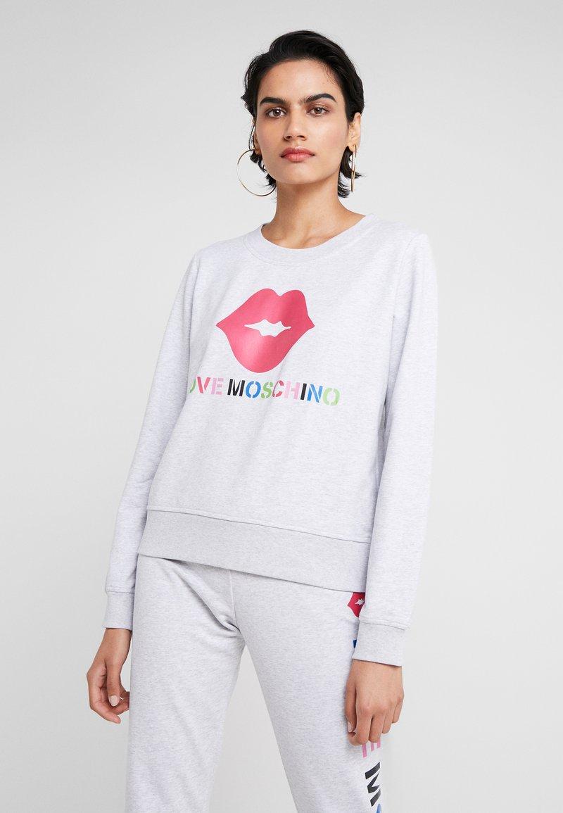 Love Moschino - LIP - Sweatshirt - light grey
