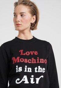 Love Moschino - Sweater - black - 4