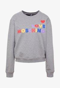 Love Moschino - Mikina - medium grey - 3