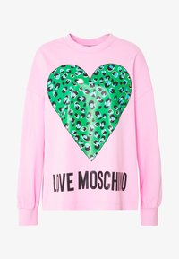 Love Moschino - Sweatshirt - pink - 4