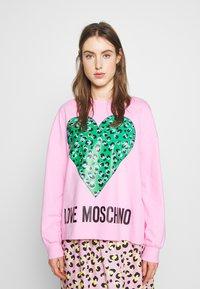 Love Moschino - Sweatshirt - pink - 0