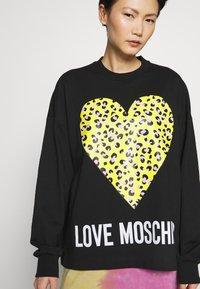 Love Moschino - Sweater - black - 5