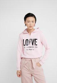 Love Moschino - Hoodie - pink - 0