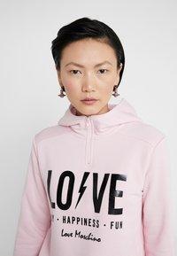 Love Moschino - Hoodie - pink - 4