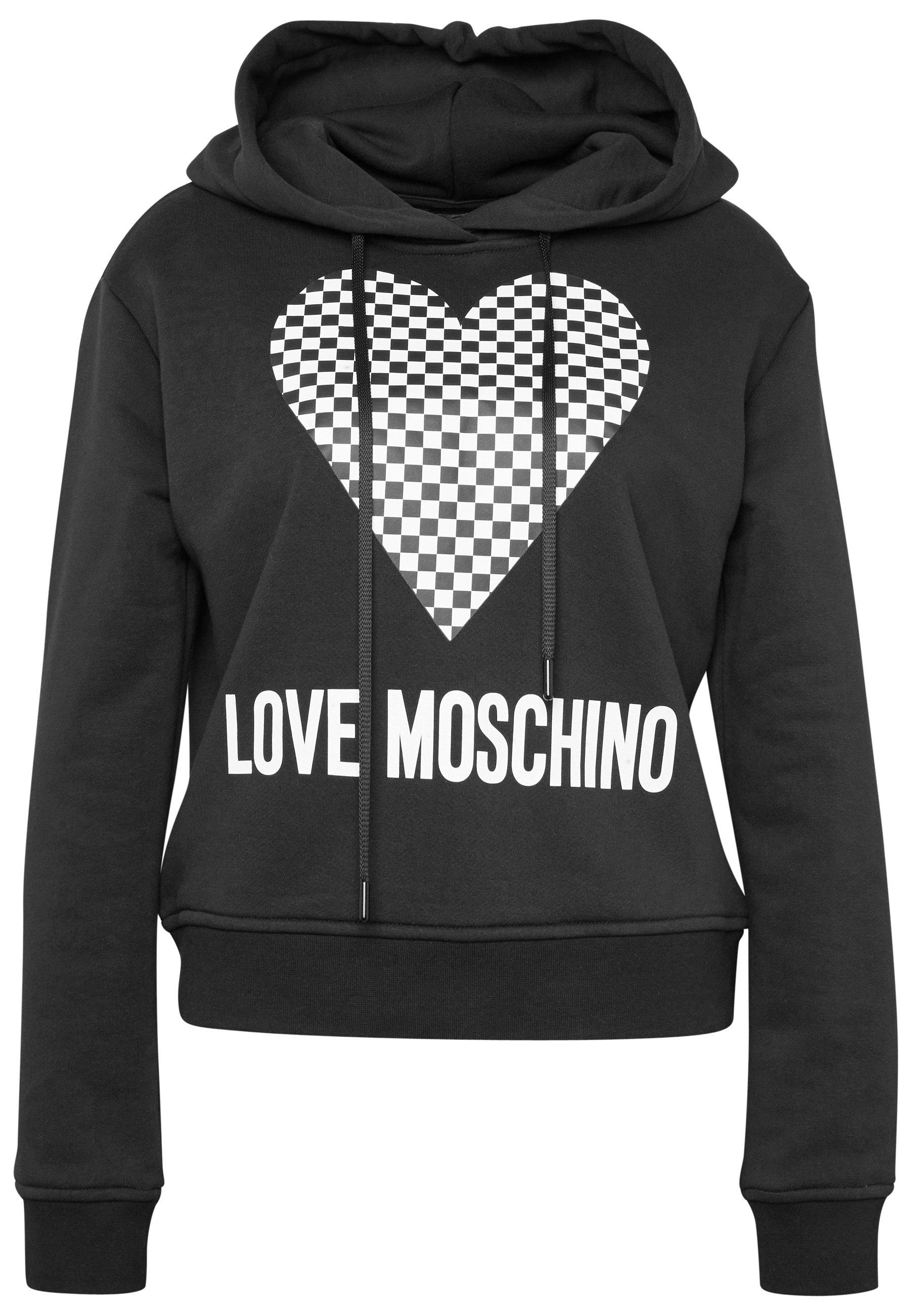 Love Moschino Kapuzenpullover - Black Friday