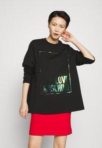 Love Moschino - Sweatshirt - black - 0