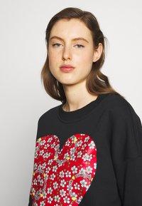 Love Moschino - Sweatshirt - black - 3